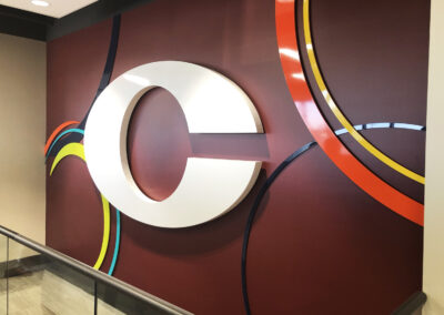 Acrylic dimensional C made for Corefirst Bank & Trust