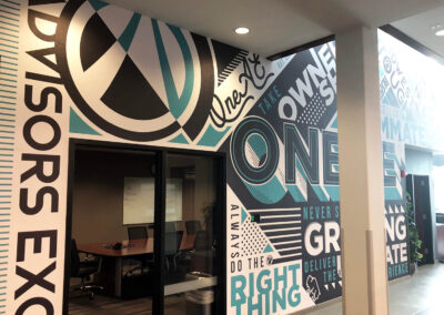 Graphic Vinyl Brand Wall Advisors Excel
